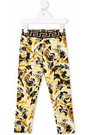 VERSACE Baby Leggings - Baroccoflage-print leggings - 5B000