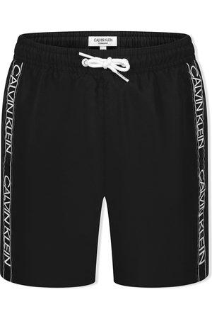 Calvin Klein Logo-tape swim shorts