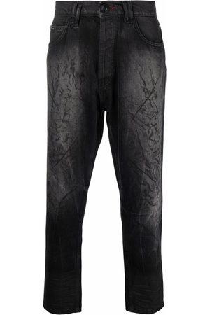 Philipp Plein Men Skinny - Carrot-fit denim jeans