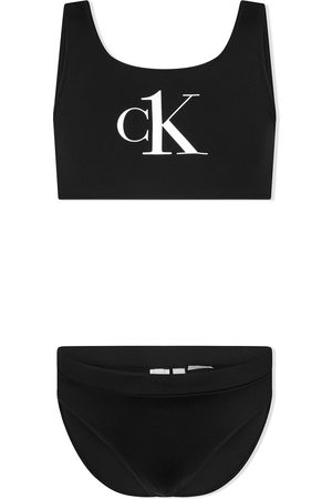 Calvin Klein Logo-print bikini set