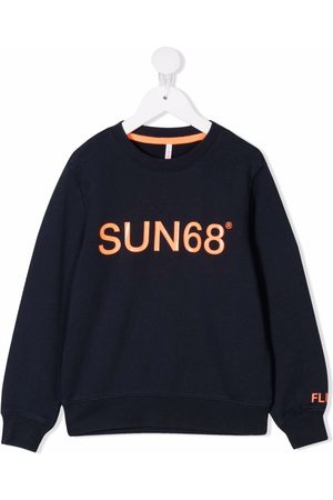 sun68 Logo crew-neck sweatshirt