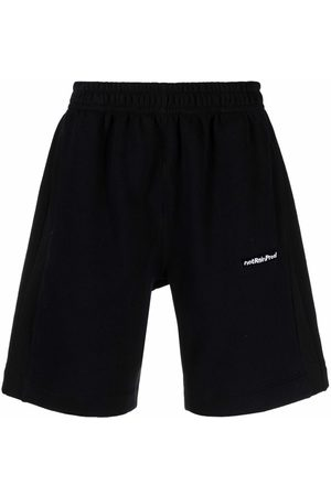 Styland Logo-printed jogger shorts