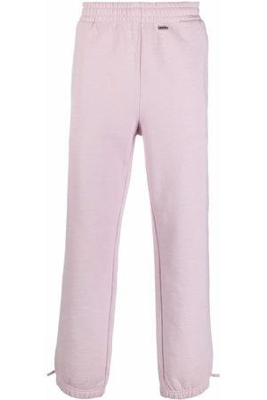 032c Sweatpants - Logo-plaque track pants - Neutrals