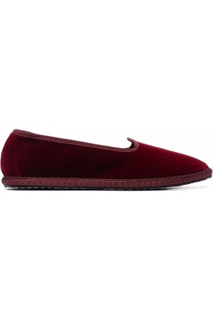 VIBI VENEZIA Velvet slip-on loafers