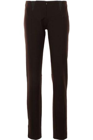 CHRISTOPHER ESBER Panelled slim-cut trousers