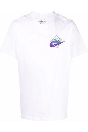 Nike Throwback logo-print short-sleeve T-shirt