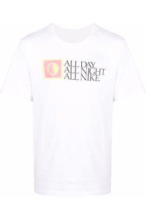 Nike Slogan-print short-sleeve T-shirt