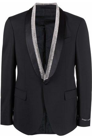 VERSACE Crystal-embellished dinner jacket