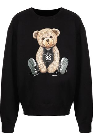 DOMREBEL Basketball teddy bear sweatshirt