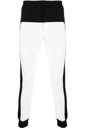 Alexander McQueen Panelled cotton track pants