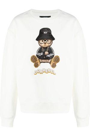 DOMREBEL Men Sweatshirts - NY Bear graphic-print sweatshirt