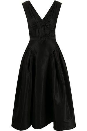 Self-Portrait Women Sleeveless Dresses - Bow-detail sleeveless dress