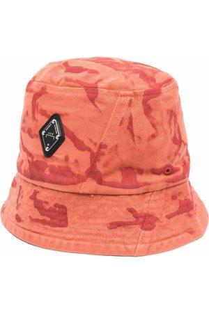 A-cold-wall* Men Hats - Diamond abstract-print bucket hat