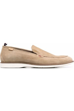 Tommy Hilfiger Almond-toe casual slip-on loafers - Neutrals