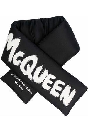 Alexander McQueen Logo-print wrap scarf