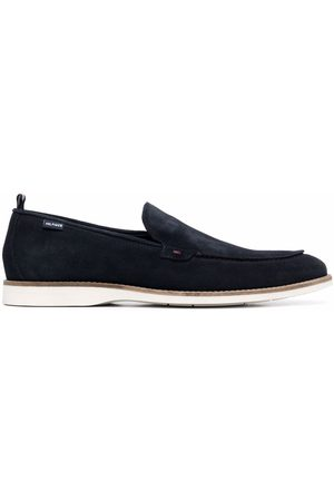 Tommy Hilfiger Almond-toe casual slip-on loafers