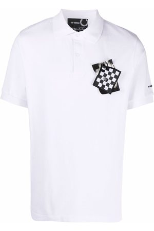 Fred Perry Patch detail logo polo shirt
