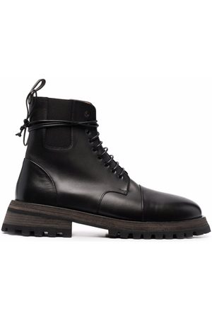 MARSÈLL Scalarmato lace-up ankle boots