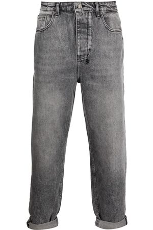 KSUBI Cropped tapered jeans - Grey