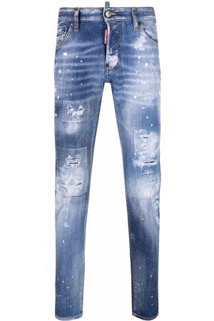 Dsquared2 Men Slim - Skater distressed-effect slim jeans