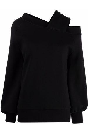 Atu Body Couture Women Strapless Tops - X Ioana Ciolacu balloon-sleeve off-shoulder sweatshirt
