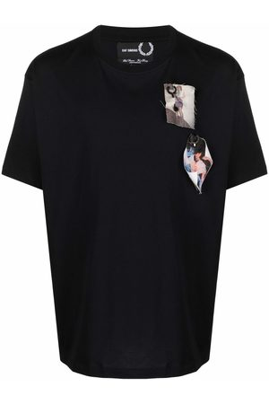Fred Perry Photograph-patch T-shirt