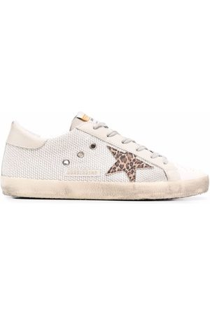 Golden Goose Women Sneakers - Super-Star low-top sneakers - Neutrals