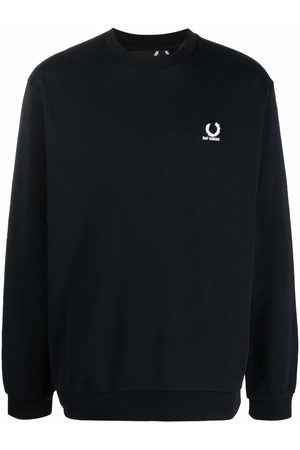 Fred Perry X Fred Perry logo-plaque sweatshirt