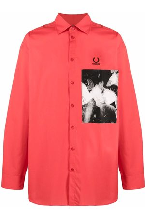 Fred Perry Photograph-print cotton shirt