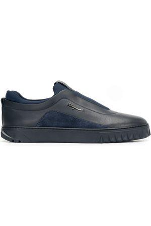 Salvatore Ferragamo Men Flat Shoes - Slip-on flat sneakers