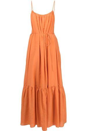 MATTEAU Tiered long dress