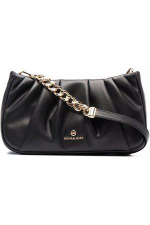 Michael Kors Hannah pleated clutch bag