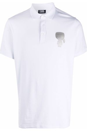 Karl Lagerfeld Karl motif logo polo shirt