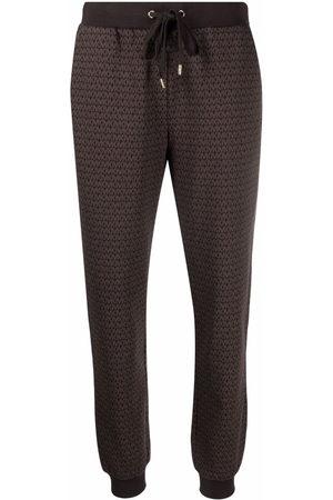 Michael Kors Monogram-print track trousers