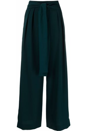 See by Chloé Pleat-detail wide-leg trousers