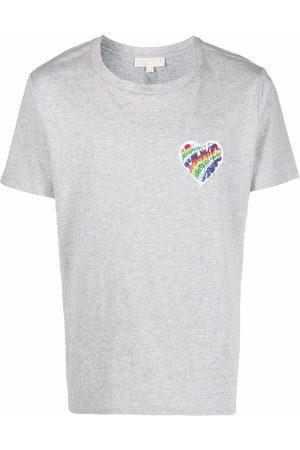 Michael Kors Logo-patch cotton T-shirt - Grey