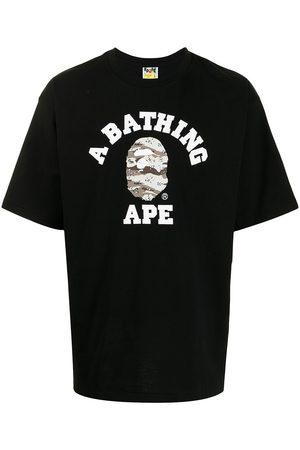 A Bathing Ape Men T-shirts - Logo-print T-shirt