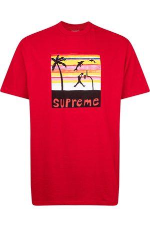 Supreme T-shirts - Dunk-print T-shirt