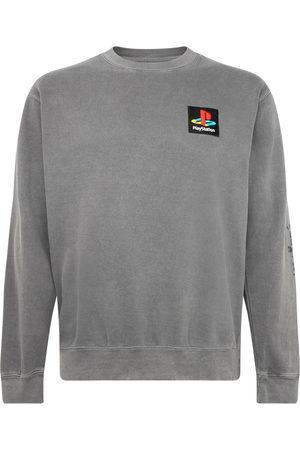 Travis Scott Astroworld X Playstation PS crewneck sweatshirt - Grey