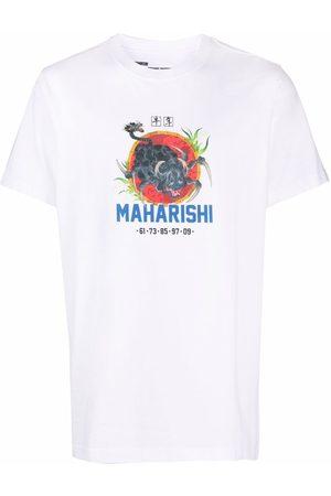 Maharishi Men T-shirts - Year Of The Spider organic cotton T-shirt