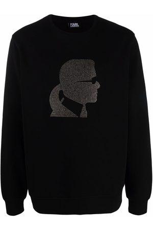 Karl Lagerfeld Karl motif crew-neck sweatshirt