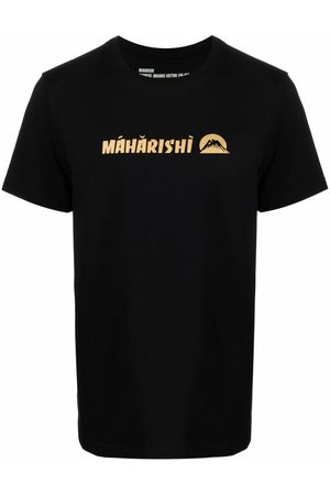 Maharishi Men T-shirts - Logo-print organic cotton T-shirt