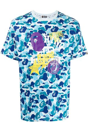 A Bathing Ape Graphic-print camouflage T-shirt