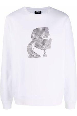 Karl Lagerfeld Men Sweatshirts - Karl motif crew-neck sweatshirt