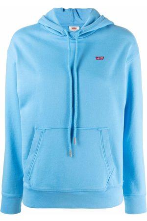 Levi's Women Hoodies - Standard logo-patch hoodie