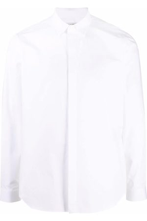 VALENTINO Concealed front button placket shirt