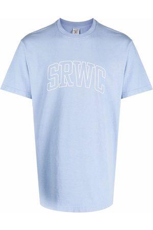 Sporty & Rich T-shirts - Logo-print cotton T-Shirt