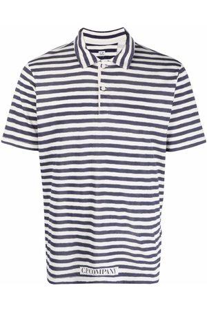C.P. Company Striped polo shirt