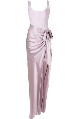 Cinq A Sept Women Party Dresses - Tied skirt long party dress