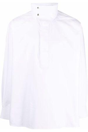 Givenchy Mock neck collar long-sleeve shirt